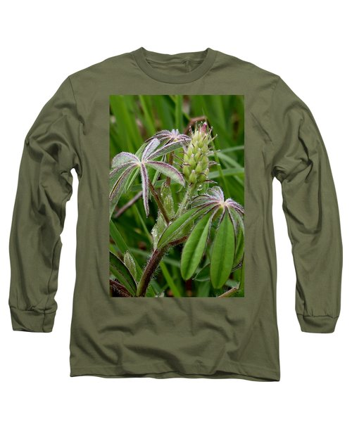Lupine Bud Long Sleeve T-Shirt