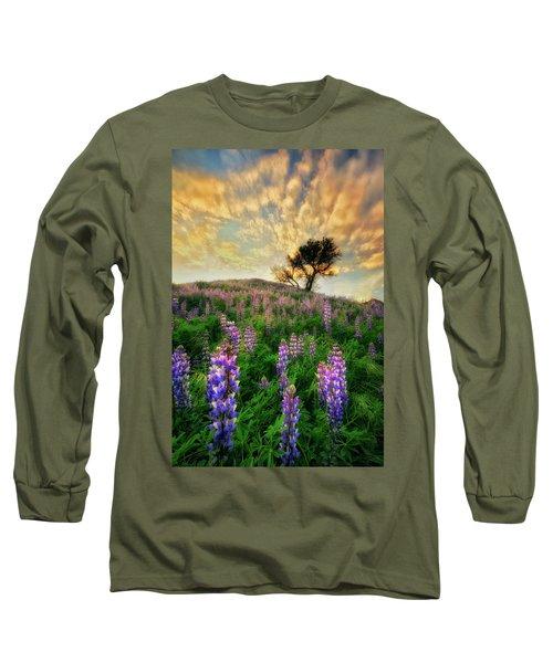 Lupine On Lupine Long Sleeve T-Shirt