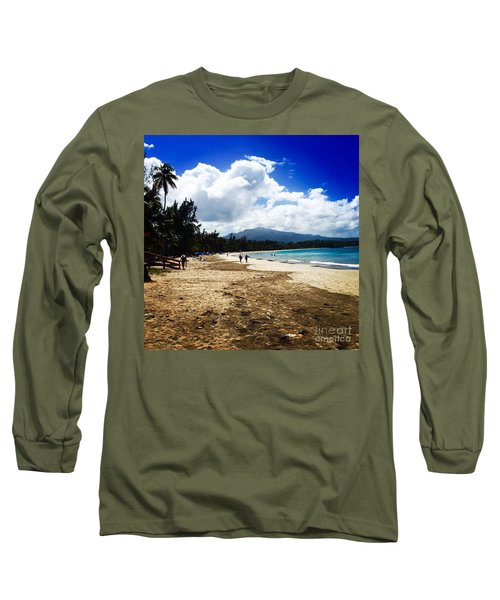 Luquillo Beach, Puerto Rico Long Sleeve T-Shirt