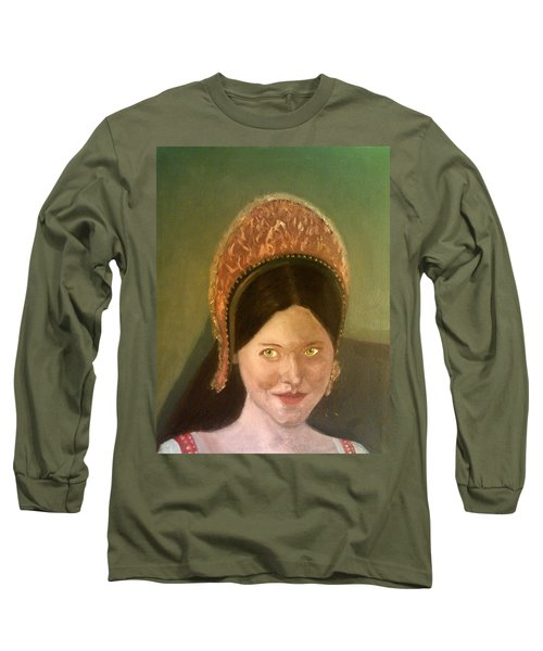 Lynne Frederick As Queen Katherine Howard Long Sleeve T-Shirt