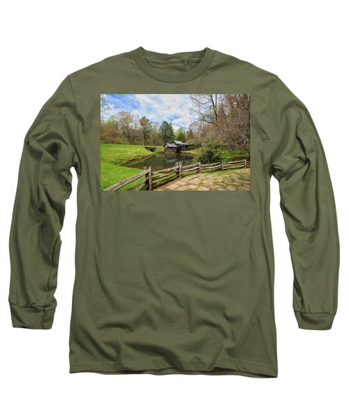 Mabry Mill In The Spring Long Sleeve T-Shirt