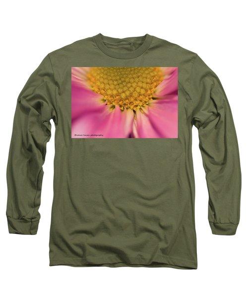 Macro Daisy Long Sleeve T-Shirt by Nance Larson