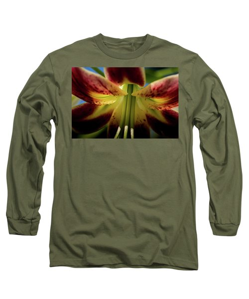 Long Sleeve T-Shirt featuring the photograph Macro Flower by Jay Stockhaus
