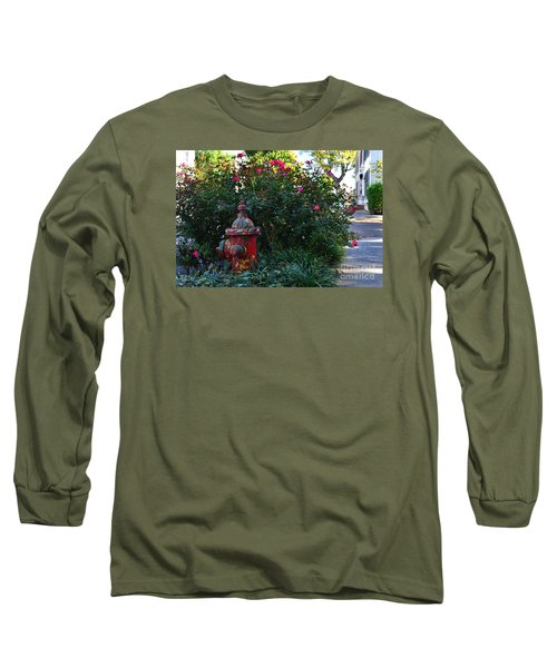 Madison Fire Hydrant Long Sleeve T-Shirt