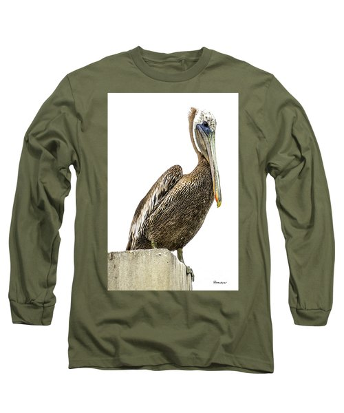 Majestic Gulf Shores Pelican 1071a Long Sleeve T-Shirt