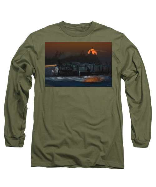 The Last Mile Before Home Long Sleeve T-Shirt by J Griff Griffin