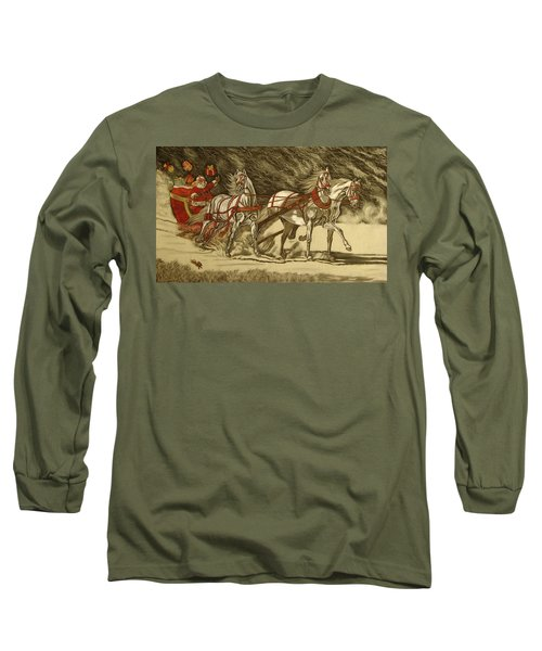 Magical Christmas Long Sleeve T-Shirt by Melita Safran