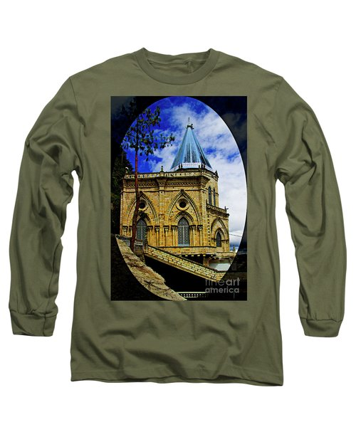 Long Sleeve T-Shirt featuring the photograph Magnificent Church Of Biblian by Al Bourassa