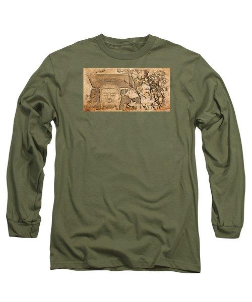 Magnolia Buddha Long Sleeve T-Shirt
