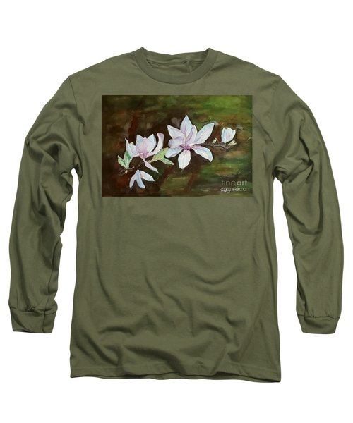 Magnolia - Painting  Long Sleeve T-Shirt