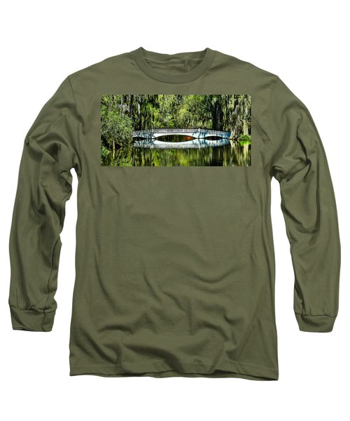 Magnolia Plantation Bridge - Charleston Sc Long Sleeve T-Shirt