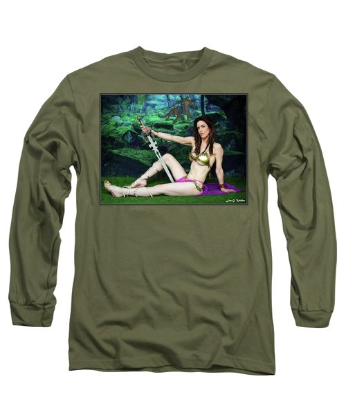 Maiden Of The Mystic Wood Long Sleeve T-Shirt