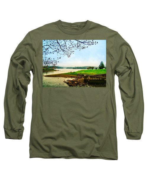Maine Fog  Long Sleeve T-Shirt