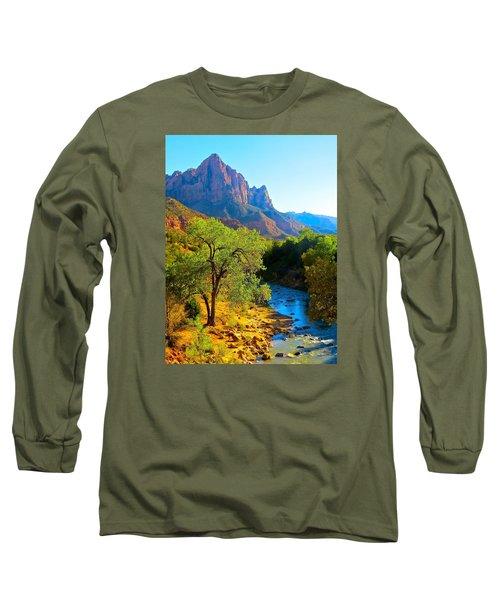 Majestic Watchman Long Sleeve T-Shirt