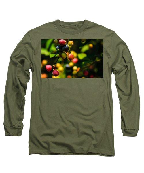 Making Blueberries Long Sleeve T-Shirt