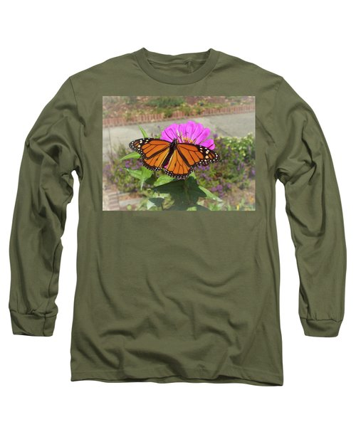 Male Monarch  Long Sleeve T-Shirt