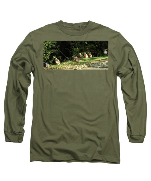 Mallards Walk Long Sleeve T-Shirt