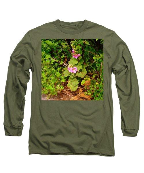 Mallow Pink Long Sleeve T-Shirt