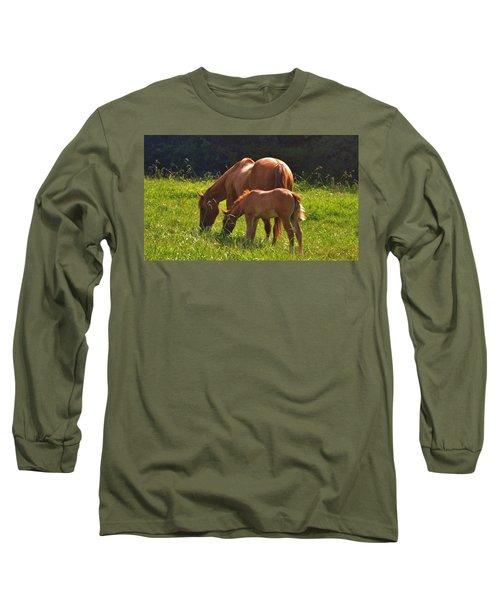 Mama And Baby Long Sleeve T-Shirt