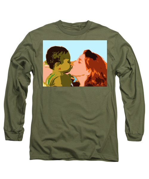 Mama And Me Long Sleeve T-Shirt by Josy Cue