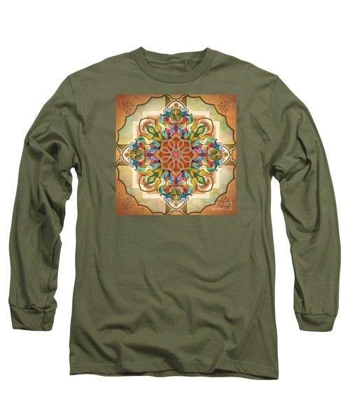 Mandala Birds Long Sleeve T-Shirt