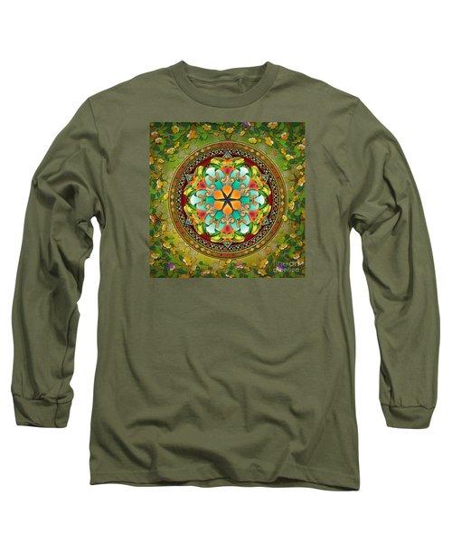 Mandala Evergreen Long Sleeve T-Shirt