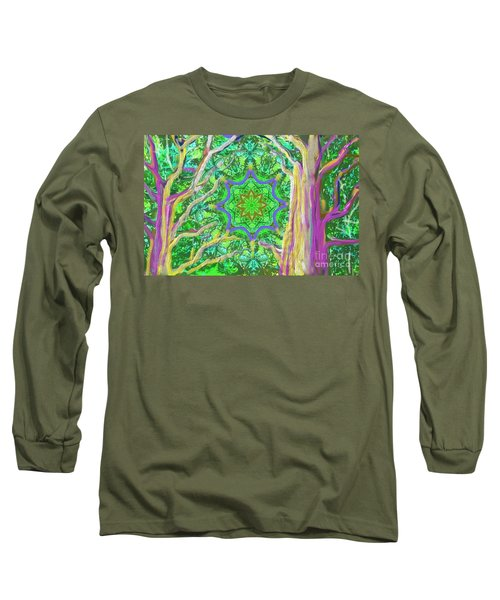 Mandala Forest Long Sleeve T-Shirt