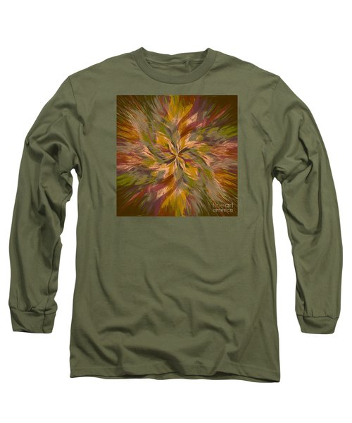 Long Sleeve T-Shirt featuring the photograph Mandala Twirl 05 by Jack Torcello