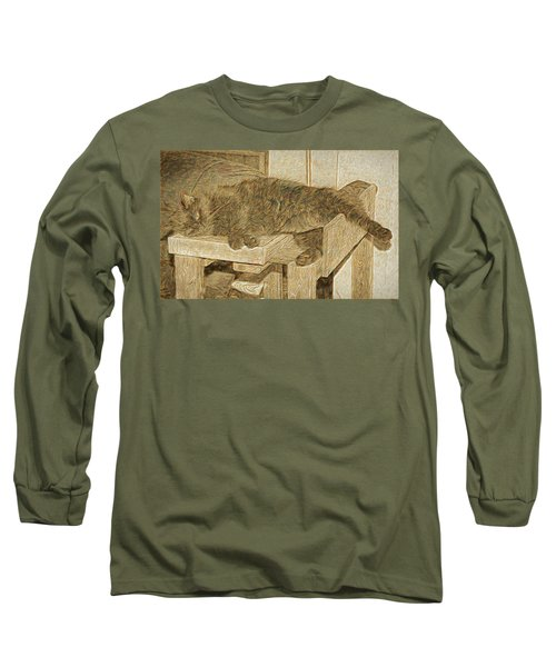 Mannie Is Relaxing Long Sleeve T-Shirt