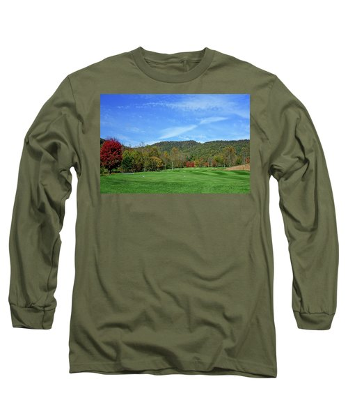 Maple Red Long Sleeve T-Shirt