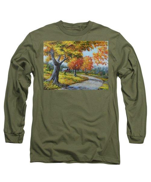 Maple Road Long Sleeve T-Shirt