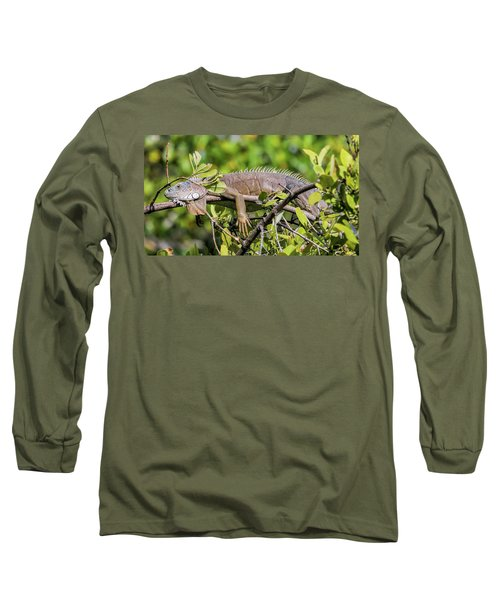 Marathon Lizzard Long Sleeve T-Shirt