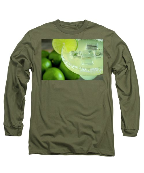Long Sleeve T-Shirt featuring the photograph Margaritas Anyone by Teri Virbickis