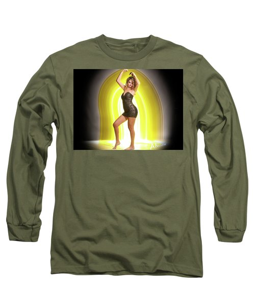 Maria Glow Long Sleeve T-Shirt by Andrew Nourse