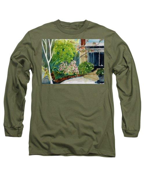 Marin Art And Garden Center Long Sleeve T-Shirt by Tom Simmons