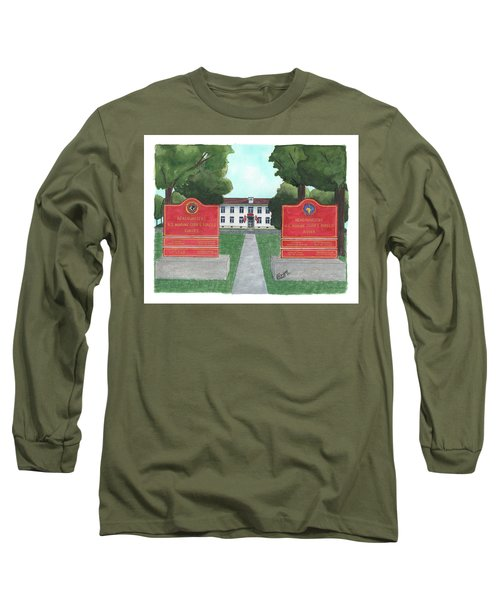 Marine Forces Europe And Marine Forces Africa Long Sleeve T-Shirt