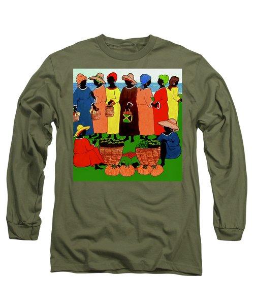 Market Day Long Sleeve T-Shirt