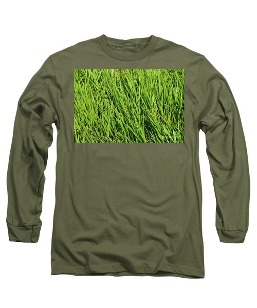 Marsh Grasses Long Sleeve T-Shirt