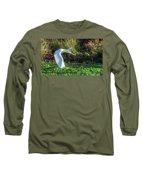 Marshy Flight  Long Sleeve T-Shirt