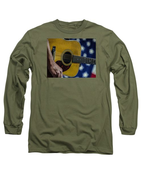 Martin Guitar 1 Long Sleeve T-Shirt by Jim Mathis