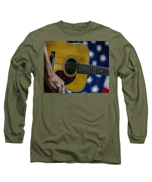 Long Sleeve T-Shirt featuring the photograph Martin Guitar 1 by Jim Mathis