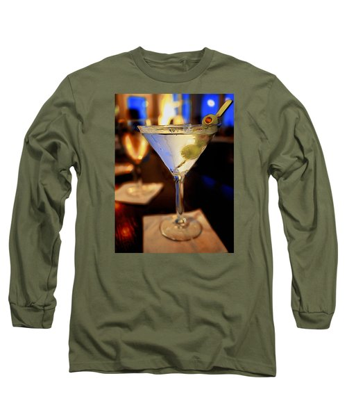 Martini Night Long Sleeve T-Shirt