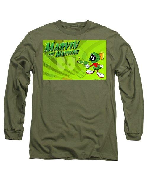 Marvin Martian Long Sleeve T-Shirt
