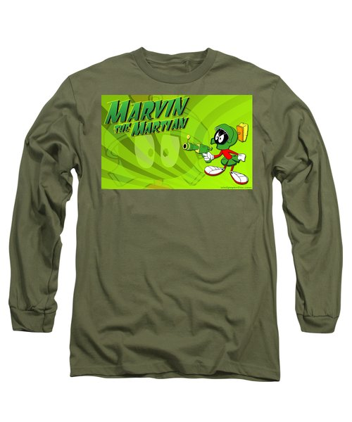 Marvin Martian Long Sleeve T-Shirt