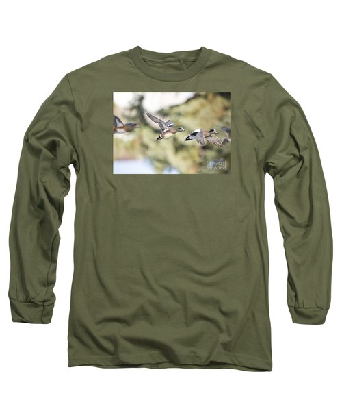 Masked Procession Long Sleeve T-Shirt