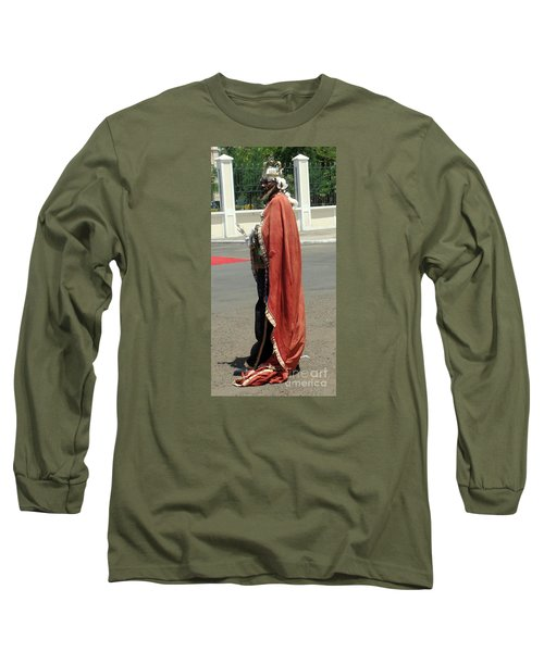 Masquerader Of Sao Tome Long Sleeve T-Shirt