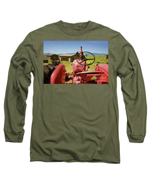 Massey Harris Tractor Long Sleeve T-Shirt