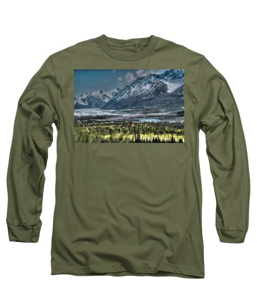 Matanuska Glacier, Alaska Long Sleeve T-Shirt