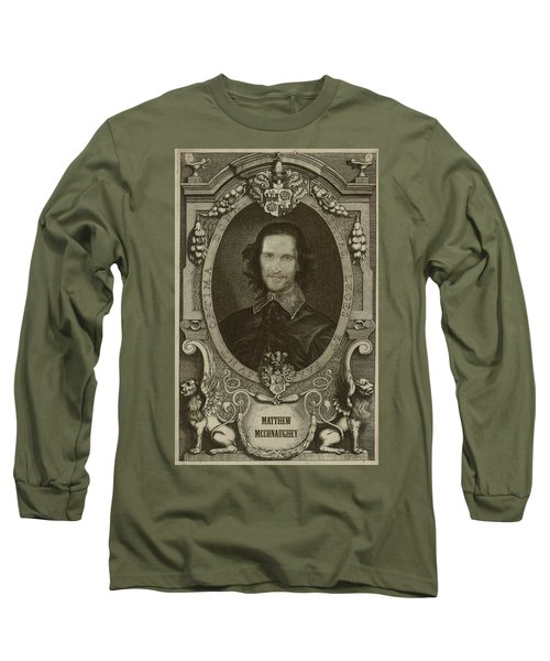 Matthew Mcconaughey   Long Sleeve T-Shirt
