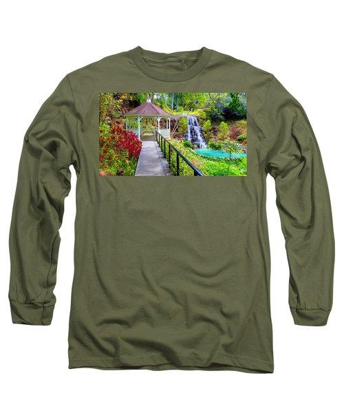 Maui Botanical Garden Long Sleeve T-Shirt by Michael Rucker
